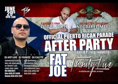 Porta Rich & Fat Joe Show