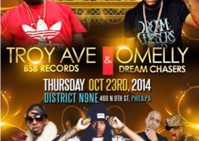 Troy Ave, Omelly, Mike Zombie and Porta Rich Show
